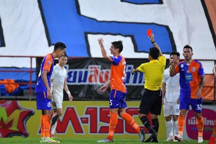 ซัวเรซน็อตหลุดโดนแดง บุรีรัมย์บุกอัดท่าเรือคาบ้าน 2-0 คืนจ่าฝูงไทยลีก ไทยลีก 1