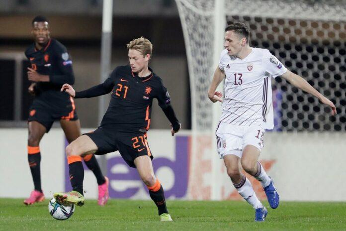 """""""ฮอลแลนด์""""ได้เฮคัดบอลโลกบุกเฉือน1-0 ทีมชาติ"""