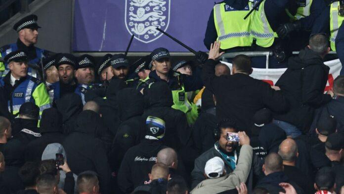 ตำรวจอังกฤษ ปะทะแฟนฮังการี ป่วน ทีมชาติ